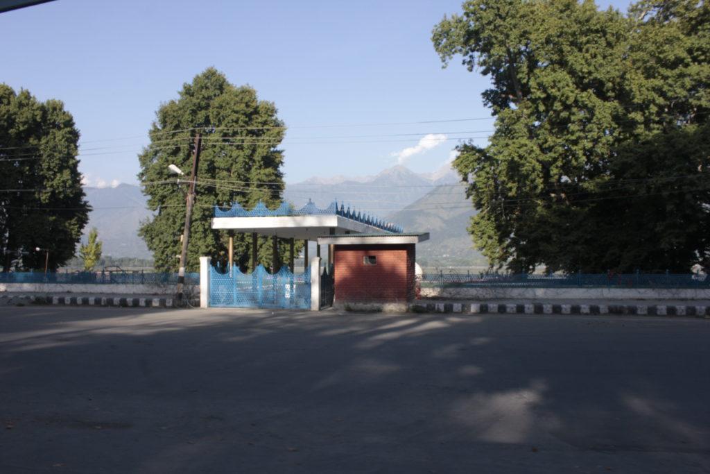 Sheikh Abdullah's masoleum in Srinagar